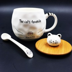 Cat mug Five
