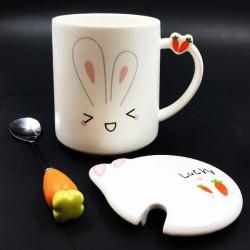 Bunny mug Happy