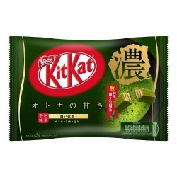 Rich Matcha Kit Kat 12 mini bar pack