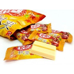 Japanese Kit Kat Mini Autumn chestnut 12 bars