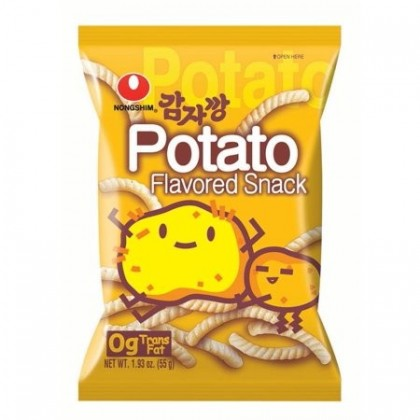 Burgonya ízesített chips - 55 g