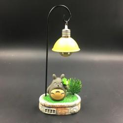 Totoro table lamp decor - clover