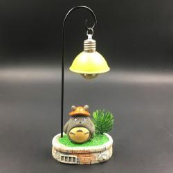 Totoro table lamp decor - hat
