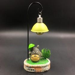 Totoro table lamp decor - leaf