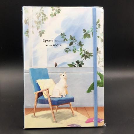 Cicás A5-ös jegyzetfüzet - szék
