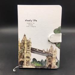 Tower Bridge jegyzetfüzet