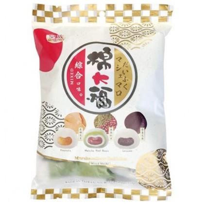 Mix mochi - matcha, mogyoró, szezámmagos