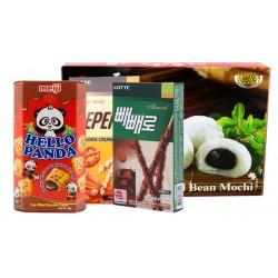 Peanut-Chocolate-Almond pack