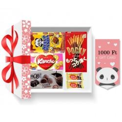 Csokis ajándékcsomag