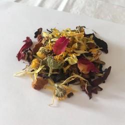 HOMEMADE herbal tea - ginger (10 pcs)