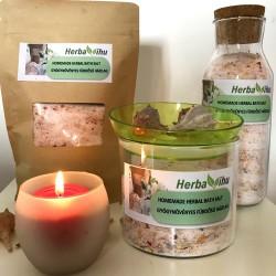 Homemade Relax lavender bath salt - 600 g