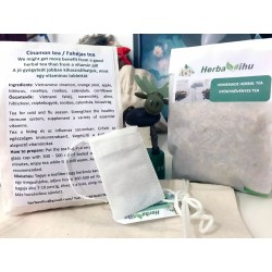 HOMEMADE herbal tea - Cinnamon (20 pcs)