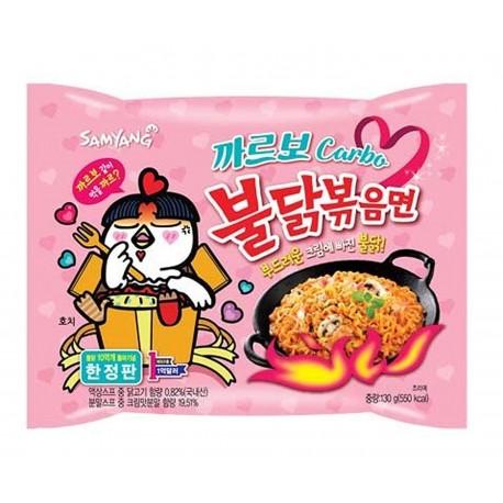 Samyang carbo csípős és fűszeres instant tészta (csirkés)