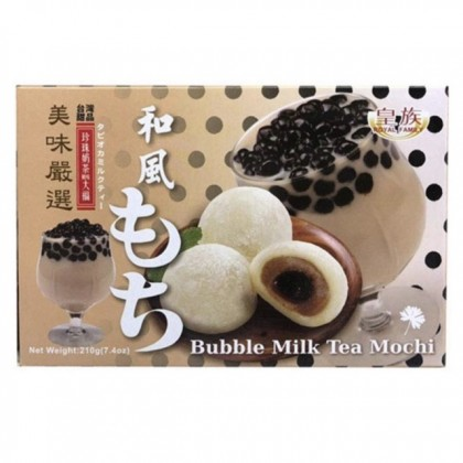 Bubble tea milk mochi