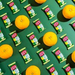 Japán YUZU Matcha Kit Kat csomag