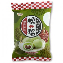 Matcha & Red Bean Mochi - 120g