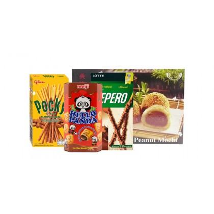 Mogyorós-Csokis-Mandulás csomag