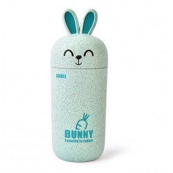 Cute Bunny green drinking cup