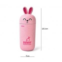 Aranyos rózsaszín nyuszi pohár