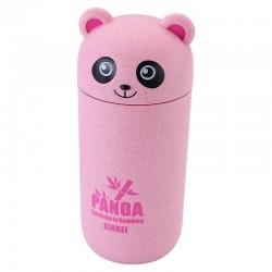 Cute Panda pink drinking cup