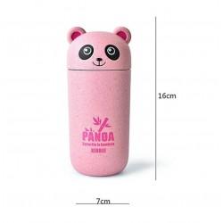 Aranyos rózsaszín panda pohár