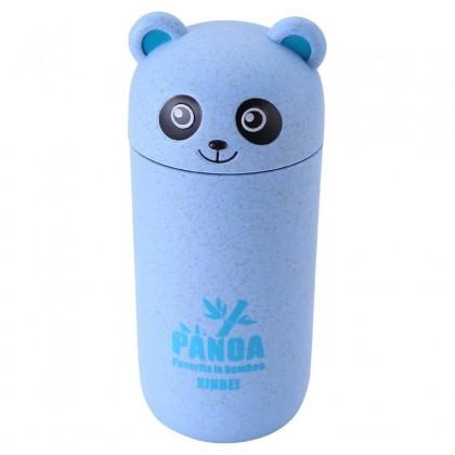 Aranyos kék panda pohár