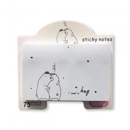 """""""I need a hug"""" notepad"""