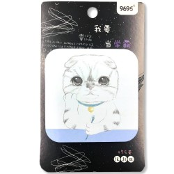 """Daydreaming"" kawaii cat sticky notes"