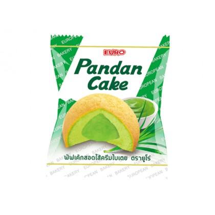 1 db Pandan pudinggal töltött piskóta