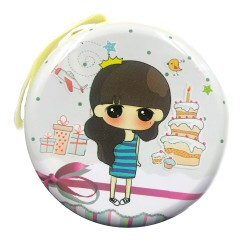 Cute birthday girl coin wallet