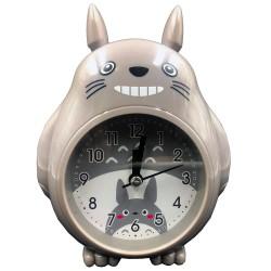 Vidám Totoro ébresztőóra szürke színben