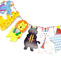 Animal decorative banner