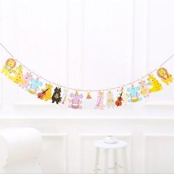 Animal decorative banner