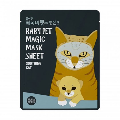 Holika Holika Baby Pet Magic Mask Sheet -Macska