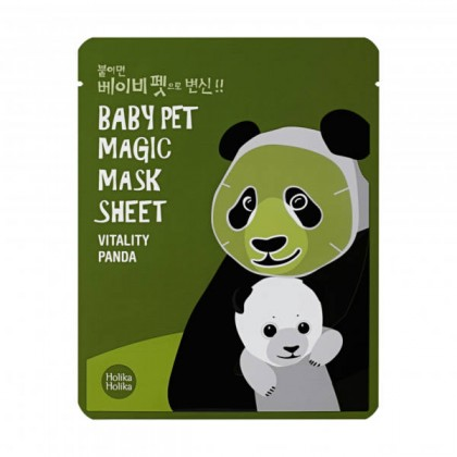 Holika Holika Baby Pet Magic Mask Sheet (Panda)