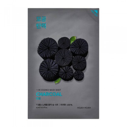 Holika Holika Pure Essence Mask Sheet - Charcoal 23 ml