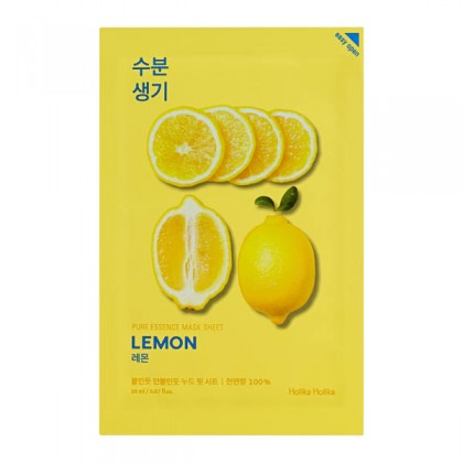 Holika Holika Pure Essence Mask Sheet - Lemon 23 ml