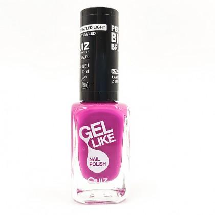 Quiz Gel like nail polish purple No.710