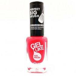 Quiz Gel like nail polish coral red No.711