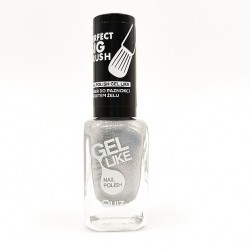 Quiz Gel like nail polish silver No.743