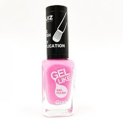 Quiz Gel like nail polish pink No.727