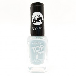 Revers gel effect nail enamel powder blue No.69