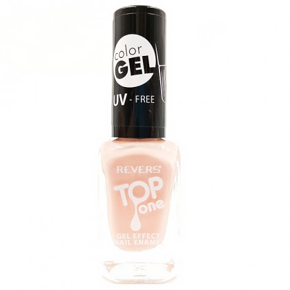 Revers gel effect nail enamel pale peach No.31