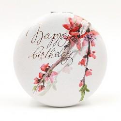 Zsebtükör Happy Birthday