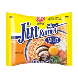 Ottogi Jin Ramen Mild Instant Noodle - 120 g