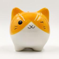 Aranyos Narancssárga macska persely