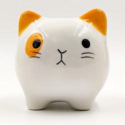 Aranyos Fehér macska persely