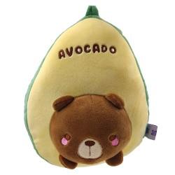 Plush avocado with cutie bear
