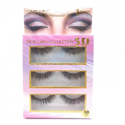 Itis Beauty faux lashes collection 5D/01