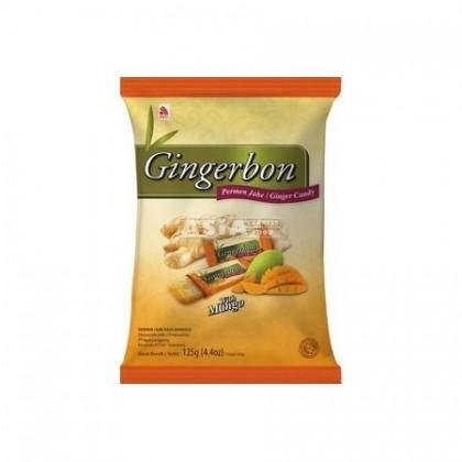 Gyömbér-Mangós ízesített cukorka - 125 g
